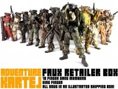Faux Retailer Box