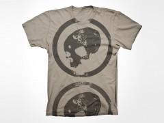 WWR 666 Sand Devil Skull t-shirt