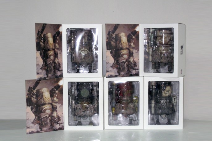 Retailer Exclusive Large Martin figures (5 variants)