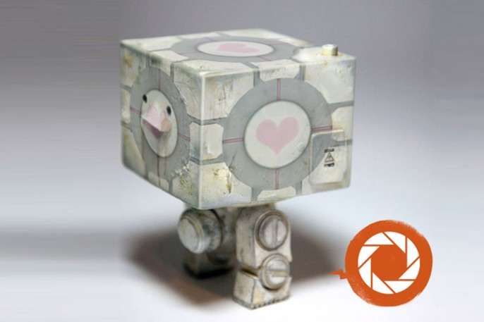 Companion Cube Square
