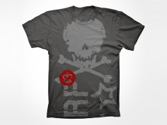 WWR Warbot Skull t-shirt