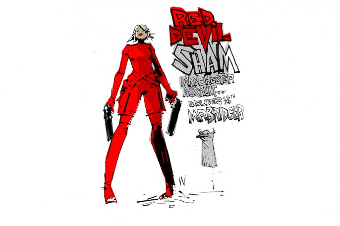 Red Devil Lady Sham