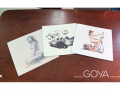Goya LP view series: Kent Williams, John Cuneo & Sail